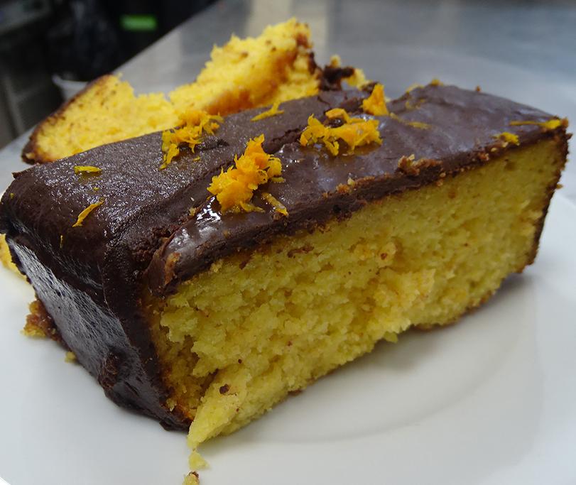 Pastís de la Dora de taronja de les Blores i xocolata